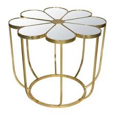 Prime Stylish Lux Engels Flower Mirrored Coffee Table Machost Co Dining Chair Design Ideas Machostcouk